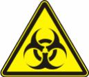 Осторожно. Биологическая опасность (инфекционные вещества) - W 16