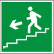 Направление к эвакуацинного по лестнице вниз - E 14