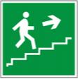 Направление к эвакуацинного по лестнице вверх - E 15