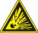 Взрывоопасно - W 02