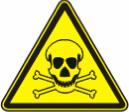 Опасно. Ядовитые вещества - W 03