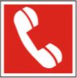 Телефон для использования при пожаре ( в том числе телефон прямой свзи с пожарной охраной) - F 05