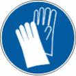 Работать в защитных перчатках - M 06