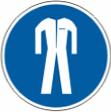 Работать в защитной одежде - M 07