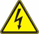 Опасность поражения электрическим током - W 08