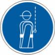 Работать в предохранительном поясе - M 09